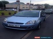 Blue Ford Fiesta 3 door 1.25 Zetec 2006 for Sale