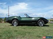1969 Chevrolet Corvette Roadster for Sale