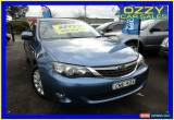 Classic 2008 Subaru Impreza MY09 RS (AWD) Blue Manual 5sp M Hatchback for Sale