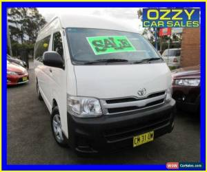 Classic 2011 Toyota Hiace TRH223R MY11 Upgrade Commuter White Automatic 4sp A Bus for Sale