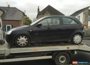 VAUXHALL CORSA 1.2i DESIGN - 05 PLATE - SPARES OR REPAIR for Sale