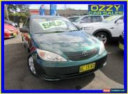 2003 Toyota Camry MCV36R Altise Green 4 SP AUTOMATIC Sedan for Sale