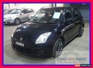 2008 Suzuki Swift RS415 Black Manual M Hatchback for Sale