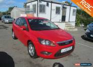 2010 Ford Focus Hatch 5Dr 1.6 100 Zetec Petrol red Manual for Sale