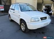 1999 Suzuki Grand Vitara Limited White Automatic A Wagon for Sale