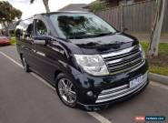 2009 Nissan Elgrand Rider Autech High Performance, 8 seater EXCELLENT CONDITION for Sale