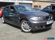 2007 07 BMW 1 SERIES 2.0 118D M SPORT 5D 141 BHP DIESEL for Sale