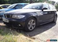 BMW 118D E87 1 SERIES 2.0LT TURBO DIESEL. MOT TILL APTIL 2018. SPARES OR REPAIRS for Sale
