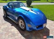 1981 Chevrolet Corvette basic for Sale