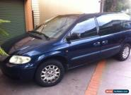 2002 Chrysler Grand Voyager Wagon 7 Seat Cruise New Battery for Sale
