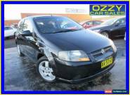 2008 Holden Barina TK MY08 Black Manual 5sp M Hatchback for Sale