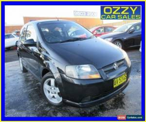 Classic 2008 Holden Barina TK MY08 Black Manual 5sp M Hatchback for Sale