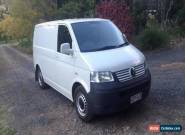 Volkswagen T5 Transporter MANUAL 2.5L DIESEL for Sale