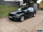 2003 BMW 320TD SE COMPACT BLACK  for Sale