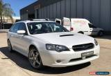 Classic 2004 SUBARU LIBERTY GT TURBO 5SPD MANUAL AWD WAGON Not Outback Forester Blitzen for Sale