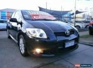 2008 Toyota Corolla ZRE152R Levin ZR Black Manual 6sp M Hatchback for Sale