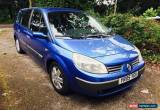Classic 2005 Renault Grand Scenic Dynamique 16v 1.6 72,000 miles Blue for Sale