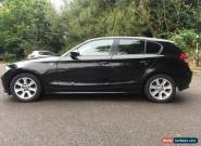 BMW 1 SERIES 118D SE 2.0 DIESEL -  E87 2005 BLACK - Expired Mot Spares or Repair for Sale