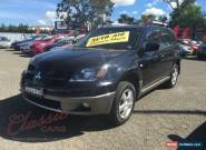 2003 Mitsubishi Outlander ZE LS Black Automatic 4sp A Wagon for Sale