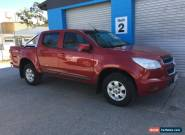 2013 HOLDEN COLORADO RG LT DUAL CAB 4X4 for Sale