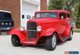 Classic 1932 Ford 2 Door Sedan for Sale