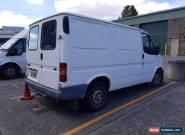 Ford transit VG 05/1998 5spd manual petrol-unreg ideal camper van project. for Sale