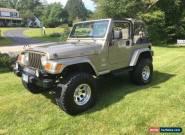 2003 Jeep Wrangler Sahara for Sale