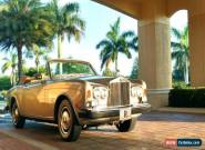 1982 Rolls-Royce Corniche Convertible for Sale