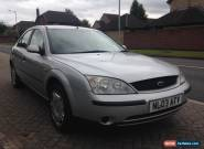 Ford Mondeo 1.8 Duratec, 2003, petrol, silver, 1 previous owner for Sale