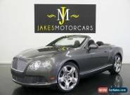 2012 Bentley Continental GT GTC W12 MULLINER ($247K MSRP!...1-OWNER!) for Sale