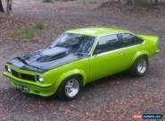 Hatchback Torana SS A9X Holden Brock HQ Monaro SLR 5000 Coupe LJ VK  for Sale