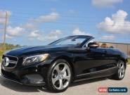 2017 Mercedes-Benz S-Class S 550 Cabriolet for Sale