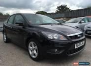 2008 Ford Focus Hatch 5Dr 1.6 100 Zetec Auto4 Petrol black Automatic for Sale