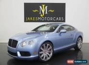 2015 Bentley Continental GT ($218K MSRP)...ONLY 500 MILES!...$60,000 OFF MSRP! for Sale