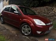 Ford Fiesta 2003 1.4 Zetec 16V 5 door 51,849 miles for Sale