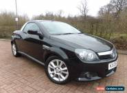 2005 VAUXHALL TIGRA 1.8 SPORT TWINPORT BLACK Spares Repair January 2017 MOT for Sale