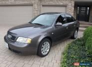 Audi: A6 Quattro for Sale
