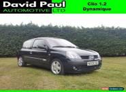 Renault Clio 1.2 16v ( a/c ) Dynamique for Sale