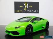 2015 Lamborghini Huracan LP 610-4 ($284K MSRP) for Sale