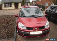 2007 RENAULT SCENIC DYN VVT RED for Sale
