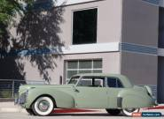 1941 Lincoln Continental 1941 Lincoln Continental V12 Coupe for Sale