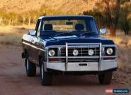 Ford F100 1977 351 manual LWB Great Condition for Sale