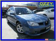 2006 Subaru Impreza MY06 2.0R (AWD) Blue Manual 5sp M Hatchback for Sale
