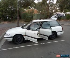 Classic Subaru Liberty Wagon '91 GX AWD Auto NOVEMBER REGO Cargo Barrier, Tow Bar  for Sale