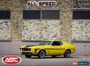 1972 Ford Mustang Mach I for Sale
