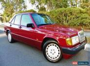 1993 MERCEDES BENZ 180E/190E W201 AUTOMATIC SEDAN. for Sale