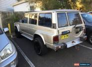 Nissan patrol 4x4 Unfinished project no reserve for Sale