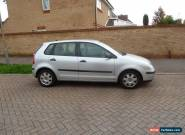 2003/53 VW POLO 1.2 TWIST 5DR SILVER AC ALLOYS FSH NO RESERVE  for Sale