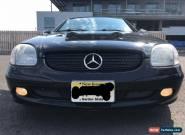 2001 Mercedes-Benz SLK-Class for Sale