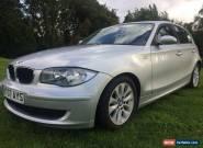 2007 07 BMW 118D SE SILVER LOW MILES EXCELLENT THROUGHOUT for Sale